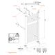 Sèche-serviettes à eau chaude Alu KROM