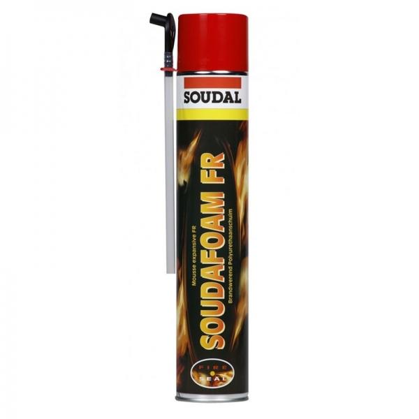 Mousse polyur thane soudafoam fr coupe feu 750ml brico chemin e - Mousse polyurethane coupe feu ...