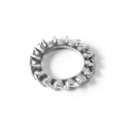 Rondelle Evantail à dentures extérieures Inox A2 DIN 6798-A