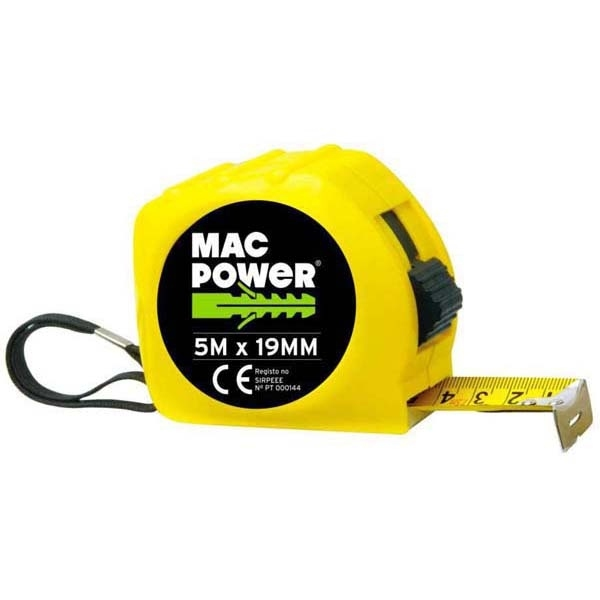 Mesure Roulante 5M x 19MM - MAC-POWER