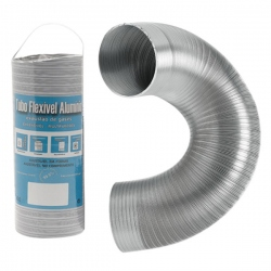 Aération - VMC - Gaine flexible / extensible Aluminium 1,5M