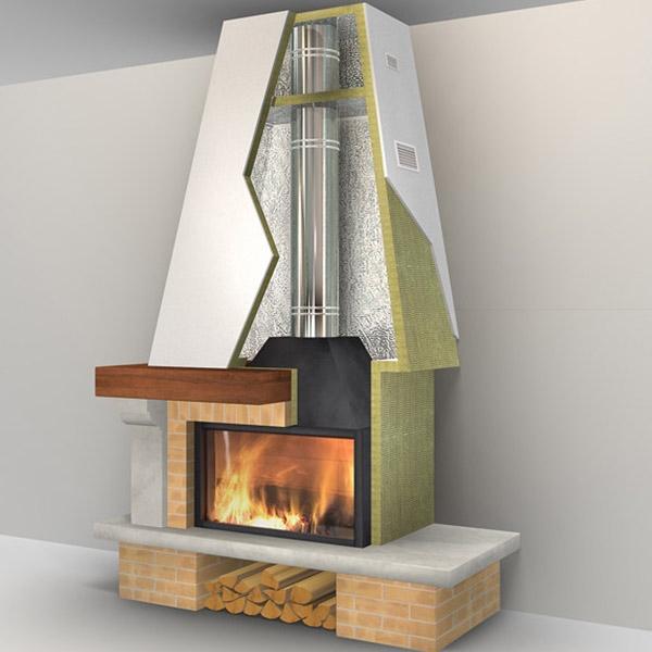 panneau laine de roche pour chemin e rev tement aluminium. Black Bedroom Furniture Sets. Home Design Ideas