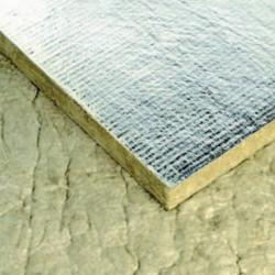 Panneau laine de roche revêtement ALU 60 mm