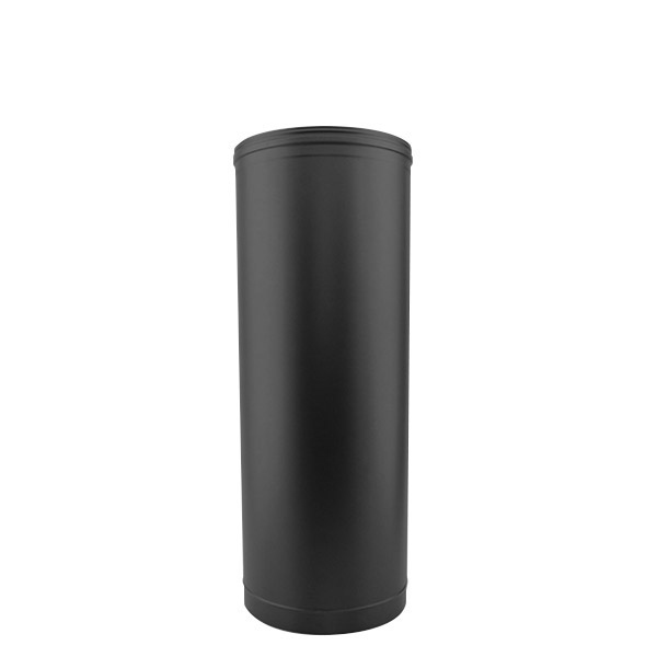 Tuyau droit 50 CM - Conduit Noir ou Anthracite PRO