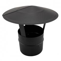 Chapeau pare pluie - Conduit Noir ou Anthracite PRO