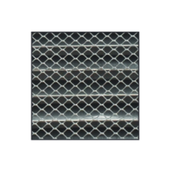 Grille d'aération en aluminium 14x14