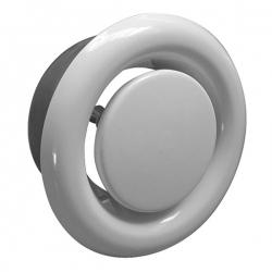 Bouche d'extraction polypropylène à encastrer Ø150