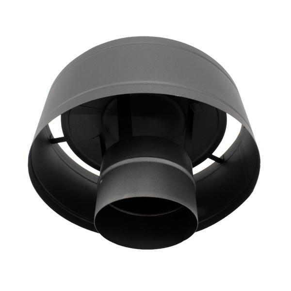 Conduit de cheminée -Chapeau anti-pluie tubage simple paroi PRO
