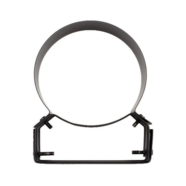 Collier support réglable 4 à 8 cm - Conduit Noir ou Anthracite