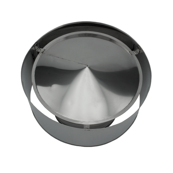Chapeau anti-pluie - Conduit cheminée double paroi