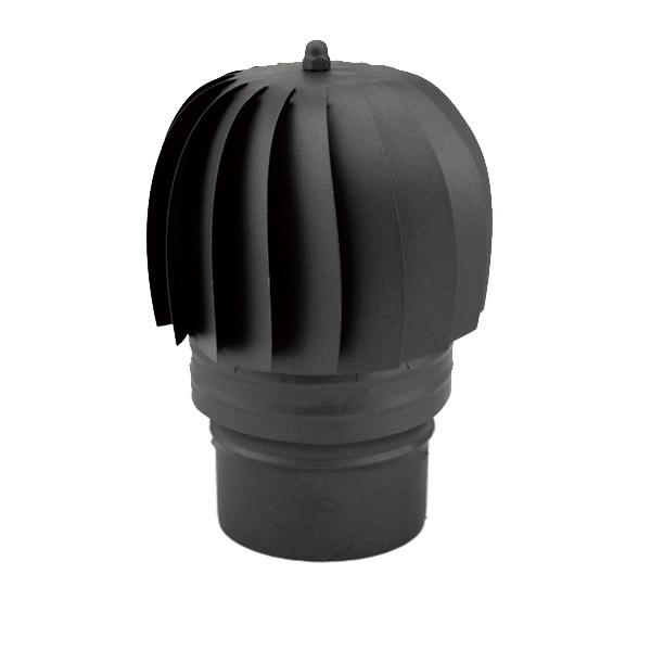 Extracteur fumée conduit double paroi Noir / Anthracite